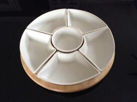 Serving platters x6