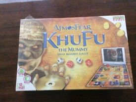 Atmosfear KhuFu The Mummy DVD Board Game
