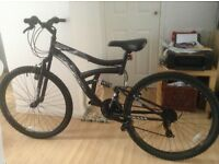 Mens hyper havoc 26 in brand new bike black shimano brakes