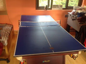 Withdrawn from sale - Snooker Table with Table Tennis Top