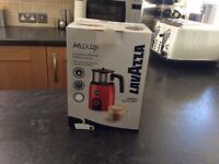 LAVAZZA MILK FROTHER / WARMER : WHITE ( UNWANTED GIFT )