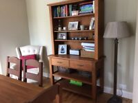 Marks and Spencer Solid Oak Dresser/Console Table. Very good condition.