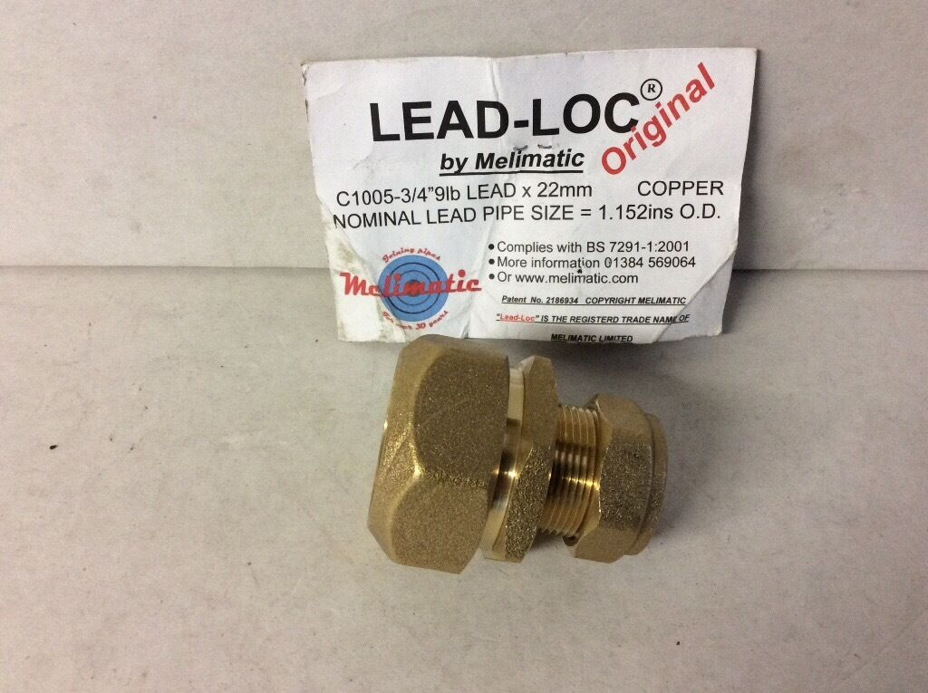 Lead Loc Compression Fittings 33 In Total In