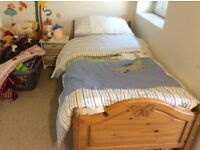 Charming Child's single bed for smaller bedrooms