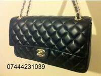 Ladies Black Chanel Shopper Handbag Quilt Design Lambskin leather £125 Flap Bag Tote £50
