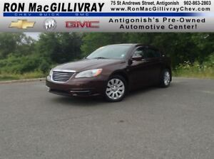 2013 Chrysler 200 LX..GM Certified..Low KM..PWLM..