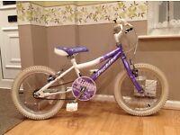"""Probike glitter girls bike 16"""" wheels (almost like new )"""