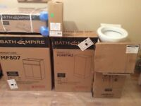 Bathroom Units with Sink and Toilet - going very cheap.