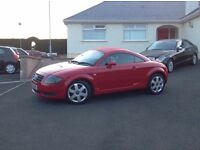 2002 Audi TT Quarttro ++++225bhp +++++ 6 speed ++++ nice looking car ++++