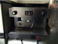 Tea/coffee machine,£350.00, works off 240 voltage,
