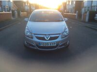 2009 Vauxhall Corsa 1.2 SXI 5dr hatchback petrol manual 1 owner 62000 miles full history £2450