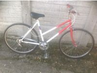 Vintage Small lady or Teenagers Town Bike 5 sp