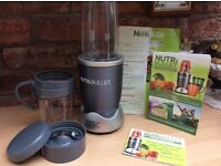 Immaculate condition, original nutribullet, all attachments and books included