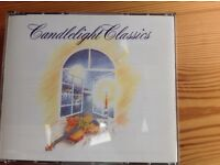 """PRICE NOW REDUCED FOR A BOX SET OF 6 CD'S OF """"CANDLELIGHT CLASSICS"""""""
