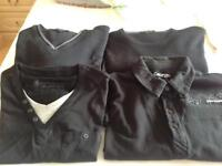 Men's medium jumpers and polo shirt
