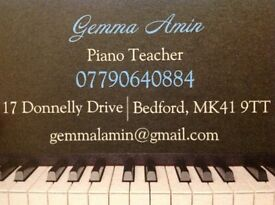 Piano Teacher in Bedford for beginners age 6+
