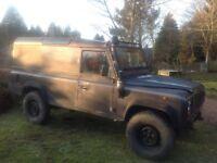 Land Rover 110 defender 300 tdi spares or repair