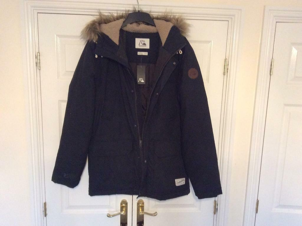 Quicksilver Men's Parka jacket | in Fforestfach, Swansea | Gumtree
