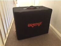 Orange ppc112 guitar cab cabinet 1x12 mint with cover