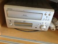 Denon UD-M50 CD Auto Changer with speakers