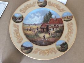 GRAIN HARVESTS WALL PLATE by Christian Seltmann