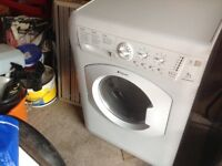 Hotpoint washer dryer 7kg good condition no longer needed due to intergrated appliances