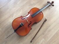 1/2 size Michael Poller cello. Very good condition. £400 only