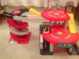 ELC Big City Garage and Spiral Race Ramp