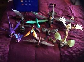 Bundle of dragon toys