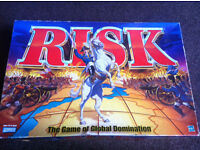 Risk! Classic strategy game.