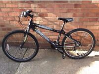 claud butler beast 24 inch just rust chain ring good gears work fine