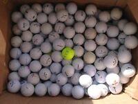 100 Practise/B Grade Golf Balls