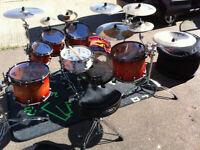 Tama Starclassic Exotix Ltd Edition Bubinga Drumset