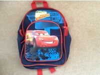 Small Rucksack with Film Cars design