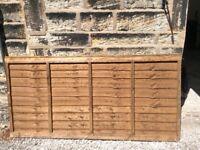 1 x Grange Fencing 'Weston' wooden fence panel