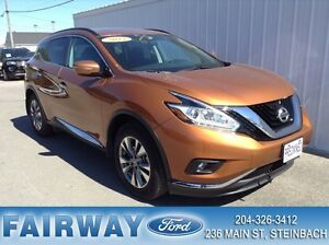 2015 Nissan Murano SV AWD CVT P Moonroof  Navigation 21125 kms