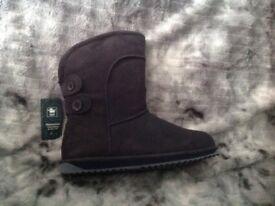 New emu boots