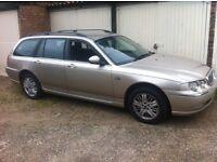 rover 75 2.0 diesel estate automatic, bmw engine bargain £495