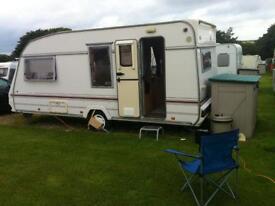 Used touring caravan 4 berth for sale