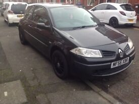 SOLD Renault megane 2 extreme coupe FULL service history,12 months mot