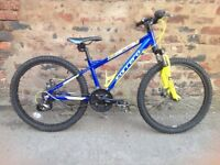 Carrera blast 24inch wheel mountain bike in good order