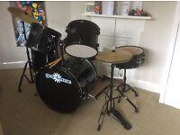 Full size starter drum set £80