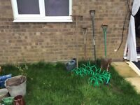 Garden tools job lot assorted DISS REDUCED !!!!!!!! GREAT BARGAIN