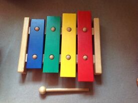 Large solid wooden Xylophone - quality child's item