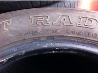 used tyres 245/70 R16