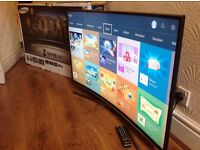 """SAMSUNG 48"""" CURVED 48JU6500 SUPER Smart 4K ULTRA HD TV,built in Wifi,Freeview HD,excellent condition"""