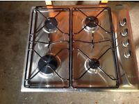 New Whirlpool Stainless Steel Gas Hob
