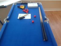 4ft x 2ft Pool table
