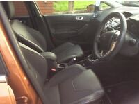 Fiesta Titanium X, 1.6 Diesel, emaculate, zero road tax, one lady owner from new, dab radio,
