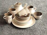Vintage Poole pottery tea set